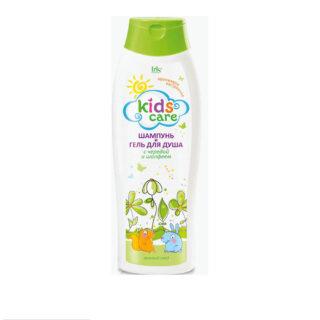 """Laste kosmeetika Shampoon+dushigeel """"Kids Care"""" kolmisruse+salvei"""