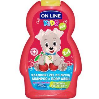 """Laste kosmeetika Šampoon ja dušigeel """"Magus kirss"""" 3+"""