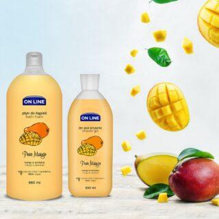 """Kehahooldus Vannivaht OnLine """"Pure Mango"""" 980ml"""