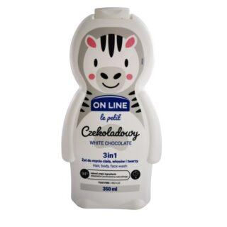 """Laste kosmeetika Šampoon ja dušigeel lastele 3in1 """"OnLine-White Chocolate"""""""