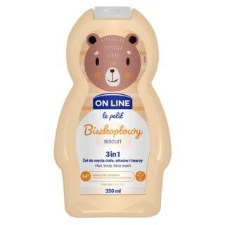 """Laste kosmeetika Šampoon ja dušigeel lastele 3in1 """"OnLine-Biscuit"""", küpsis"""