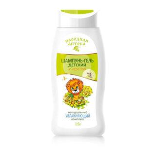 """Laste kosmeetika Laste šampoon ja dušigeel """"Narodnaja apteka"""", kolmisrusega"""