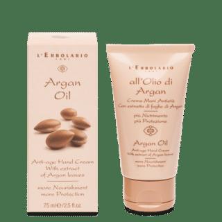 Kätehooldus Kätekreem anti-age L'Erbolario Argan Oil 75ml