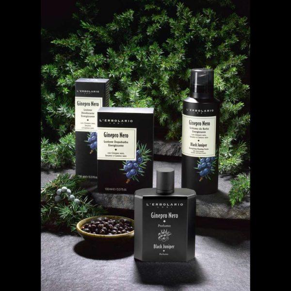 Meeste dušigeelid Šampoon ja dušigeel ühes meestele L'Erbolario Black Juniper 250 ml