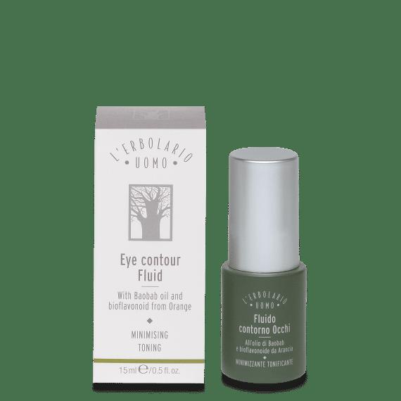 Meeste kosmeetika Silmaümbruse kreem-fluid L'Erbolario Uomo 15 ml