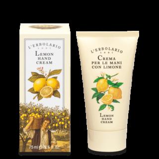 """Kätehooldus Käte- ja küünekreem L'Erbolario """"Crema per le Mani Con Limone"""" sidruniga 75 ml"""