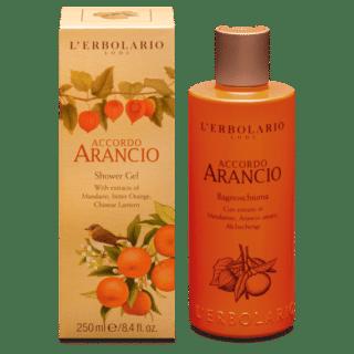 Dušigeelid Dušigeel L'Erbolario Accordo Arancio 250 ml
