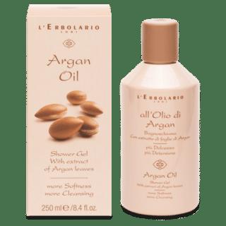 Dušigeelid Duši- ja vannivaht argaaniaõliga L'Erbolario Argan Oil 250ml