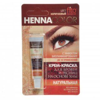 kulmuvarvid pruun Henna color 5ml