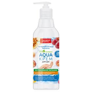 """Kätehooldus Kätekreem toitev """"Aqua"""", Kamtšatka termaalveel pudelis"""