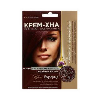 Looduslik juuksevärv Fitokosmetik 50 ml, burgundia