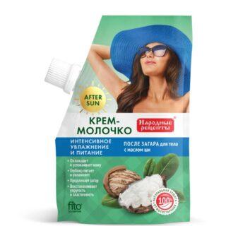 Niisutav päevitusjärgne piim näole ja kehale Fitokosmetik Narodnyje Recepty, 50 ml