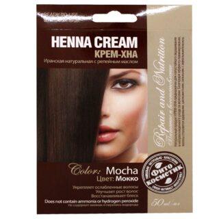 Looduslik juuksevärv Fitokosmetik 50 ml, Mokko
