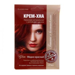 Looduslik juuksevärv Fitokosmetik 50 ml, Punane vask