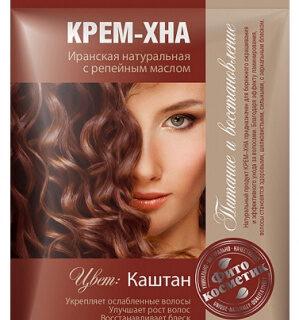 Looduslik juuksevärv Fitokosmetik 50 ml, kastan