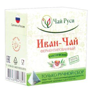Toidulisandit ja tervislik toit Ivan-tee kääritatud klassikaline 20tk
