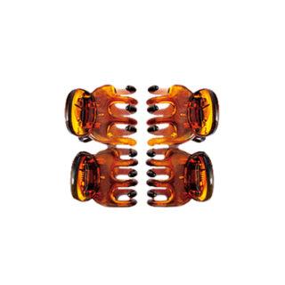 """Juuksehooldus Juukseklamber FA-5819 """"Donegal Amber"""" mini 4tk"""