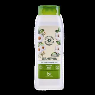 """Shampoon """"Ljubimaja kosmeetika"""" juuste tugavdamiseks 400gr"""