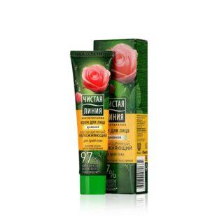 """""""T.L.""""niisutav päevakreem kuivale nahale roosiga 40ml"""