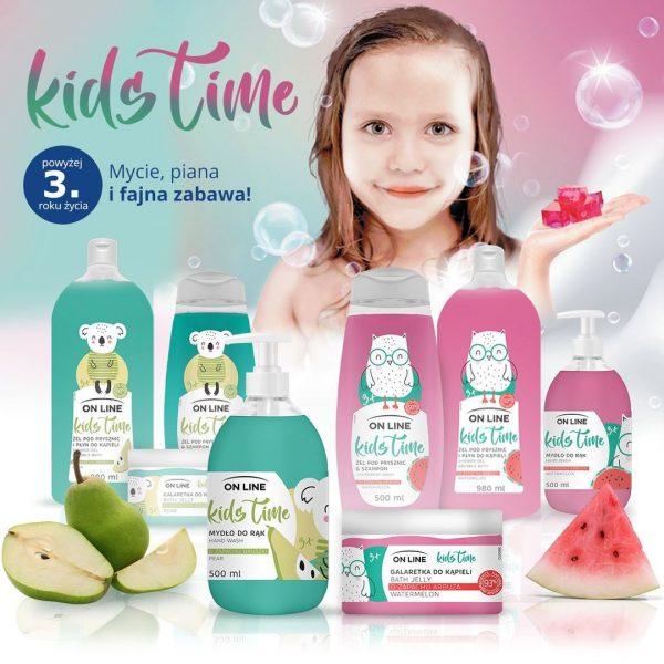 """Kids TIme shampoon ja dushgeel """"Arbuus"""" 500ml"""