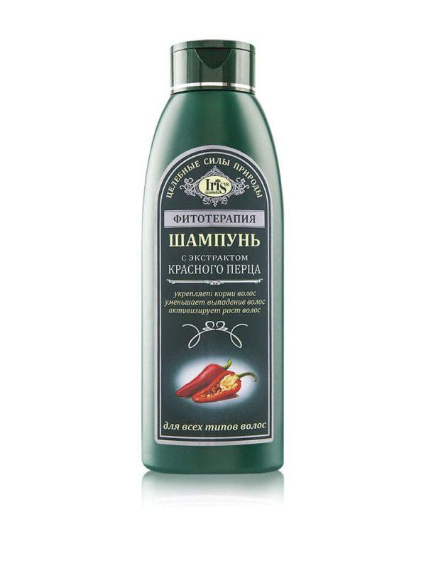 Taimravi šampoon punase pipra ekstraktiga kõikidele juustetüüpidele
