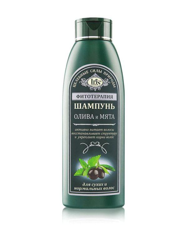 Taimravi šampoon oliivi ja piparmündi ekstraktiga normaalsele ja kuivale juustele