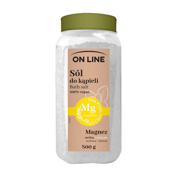Vannisool «On Line 100% Vegan», Mg meliss ja sidrunikoori õli