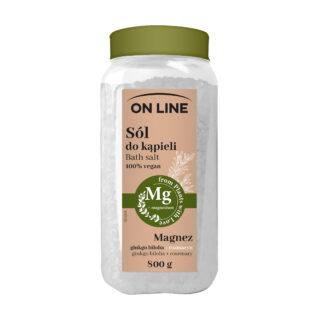 """Vannisool """"On Line 100% vegan"""" Mg vetikad + rosmariin 800 gr"""