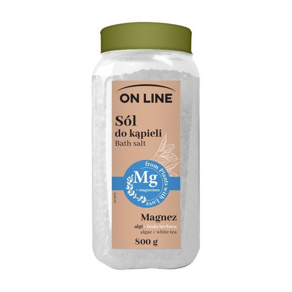 Vannisool «On Line 100% Vegan», Mg valge tee sidrunikoori õli