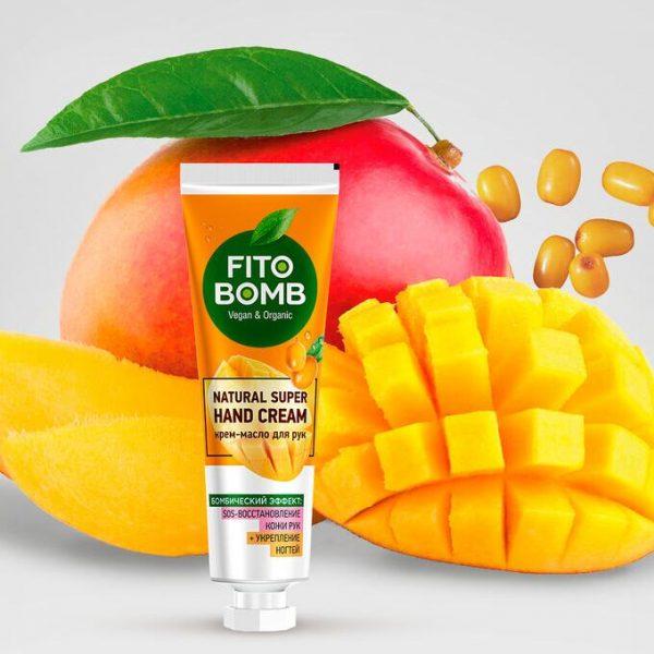 FitoBomb SOS kätekreem-õli Kätenaha taastamine