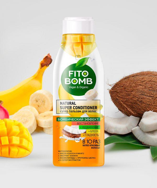 FitoBomb Super juuksepalsam mango- ja kookospähkliõli