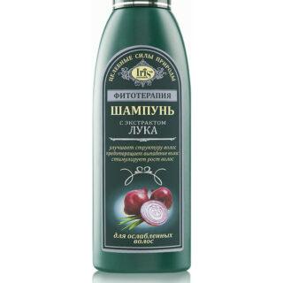 Taimravi šampoon sibula ekstraktiga kahjustatud juustele